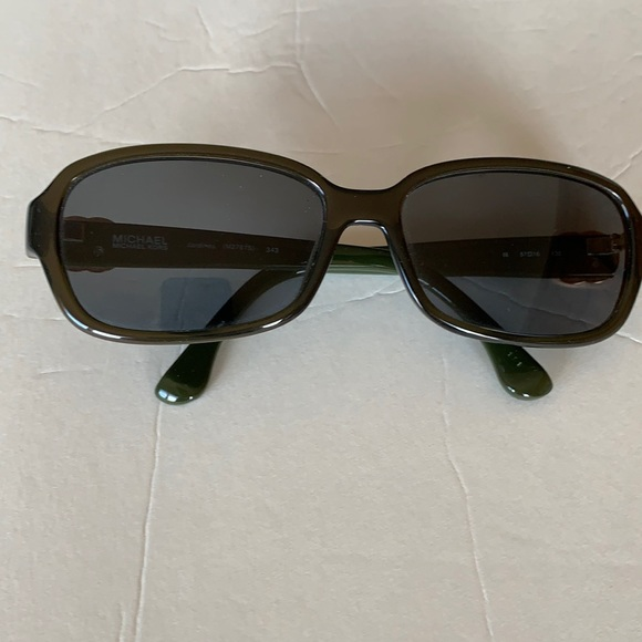 Michael Kors Woman's Green Sunglasses